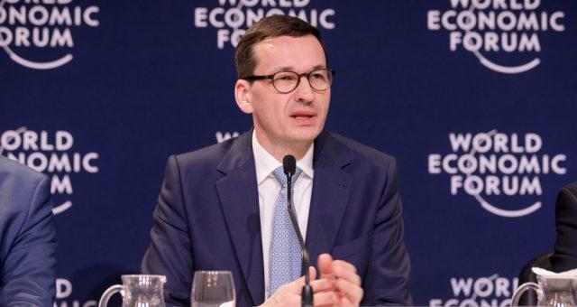 2018.01.25 Davos   Premier Mateusz Morawiecki bierze udział w Forum Ekonomicznym w Davos. Fot. KPRM