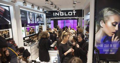 Sklep Inglot na Oxford Street w Londynie. Fot. materiały prasowe Inglot
