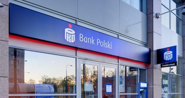 Oddział banku PKO BP w Warszawie. Fot. materiały prasowe