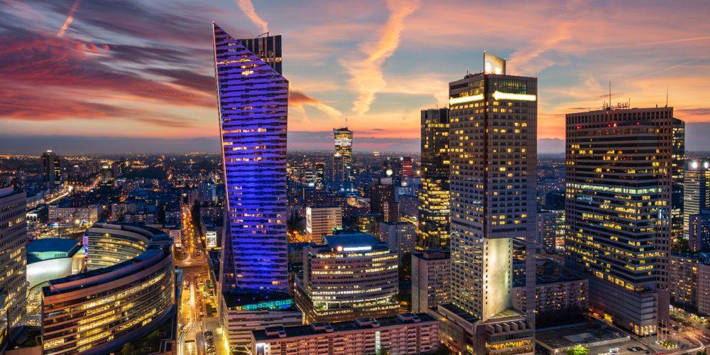Wieżowce w Warszawie. Fot. Mike Mareen / Shutterstock.com