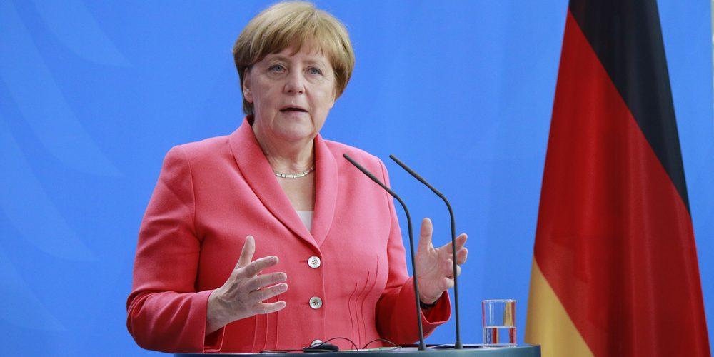 Angela Merkel/ Shutterstock.com