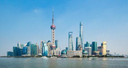 Panorama Szanghaju, centrum finansowego Chin. Fot. Lixiang / Shuttertstock.com