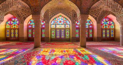 Meczet Nasir Al-Mulk w miejscowości Shiraz w Iranie. Fot. Mazur Travel / Shutterstock.com