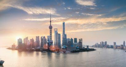 Wschód słońca nad Szanghajem, Chiny. Fot. Shutterstock
