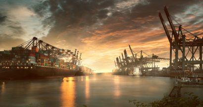 Port w Hamburgu, Niemcy. Fot. Shutterstock
