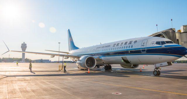 Boeing 737-8 max / shutterstock.com