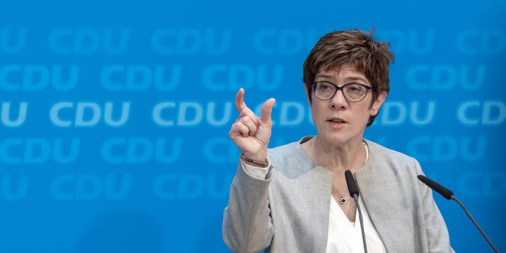Annegret Kramp-Karrenbauer, przewodnicząca niemieckiej Unii Chrześcijańsko-Demokratycznej Fot. photocosmos1 / Shutterstock.com