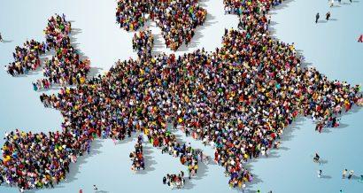 Ludzie i Europa. Fot. Shutterstock