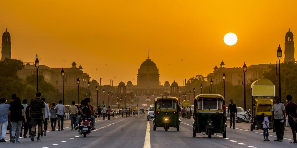 Pałac Prezydencki w New Delhi, Indie. Fot. Shutterstock