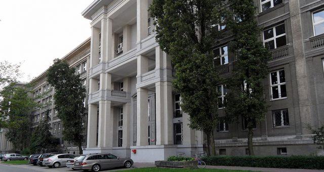 Wydział MiM UW / fot. Krzysztof Dudzik wikipedia.org