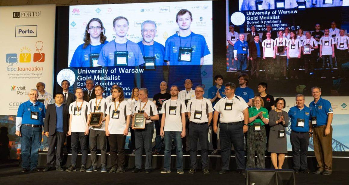 medaliści mistrzostwa świata w programowaniu / https://www.mimuw.edu.pl