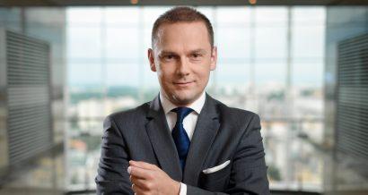Jakub Papierski, wiceprezes PKO Banku Polskiego nadzorujący Obszar Bankowości Korporacyjnej i Inwestycyjnej