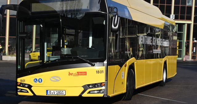 Elektryczny Solaris. Fot BVG