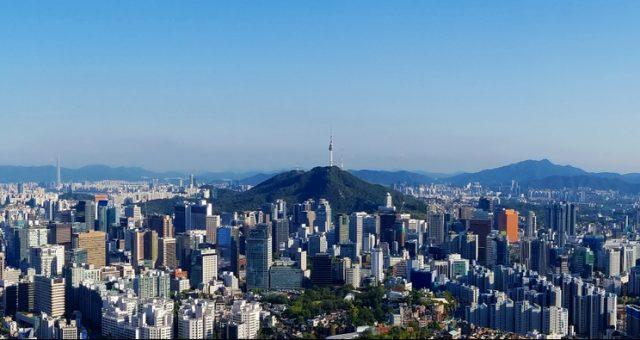 Seul, stolica Korei Południowej - panorama. Fot. Shutterstock