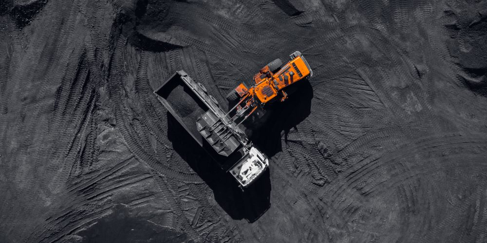 Odkrywkowa kopalnia węgla, Fot. Shutterstock.com