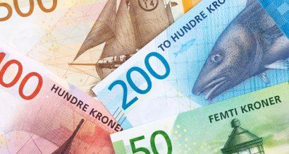 Korony norweskie. Fot. Shutterstock