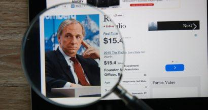 Ray Dalio - zdjęcie na stronie Forbes. Fot. aradaphotography / Shutterstock.com