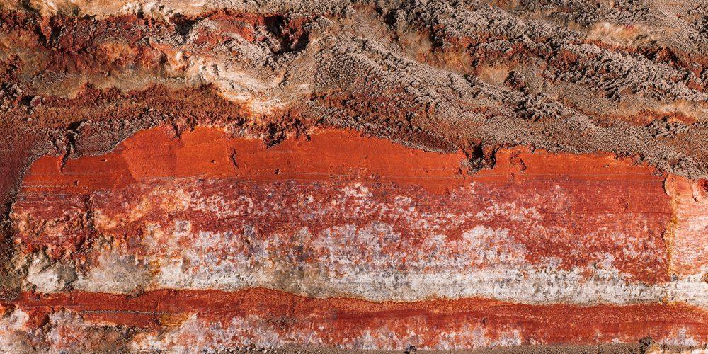 Fragment ściany w kopalni soli potasu, Fot. Shutterstock