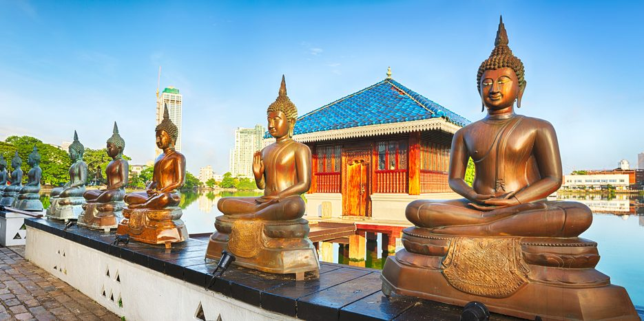 Świątynia w Kolombo, stolicy Sri Lanki. Fot. Shutterstock