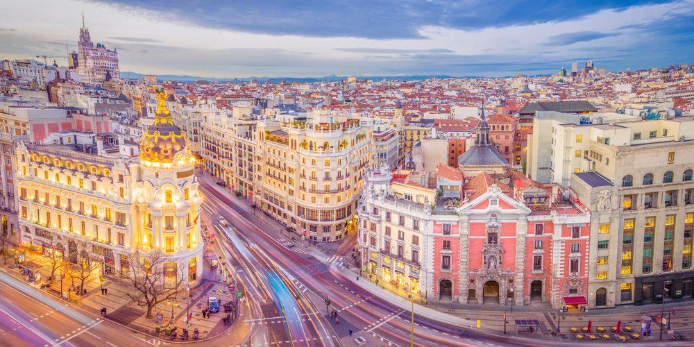 Centrum miasta Madryt, Hiszpania. Fot. Shutterstock