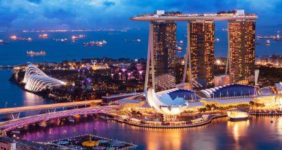 Widok na Singapur, Fot. Shutterstock.com
