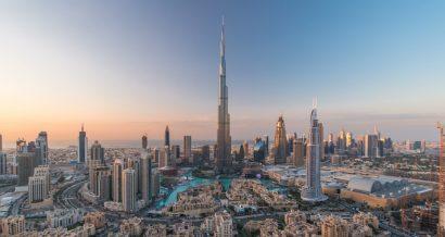 Burż Kalifa, najwyższy wieżowiec na świecie, Dubaj. Fot. Shutterstock