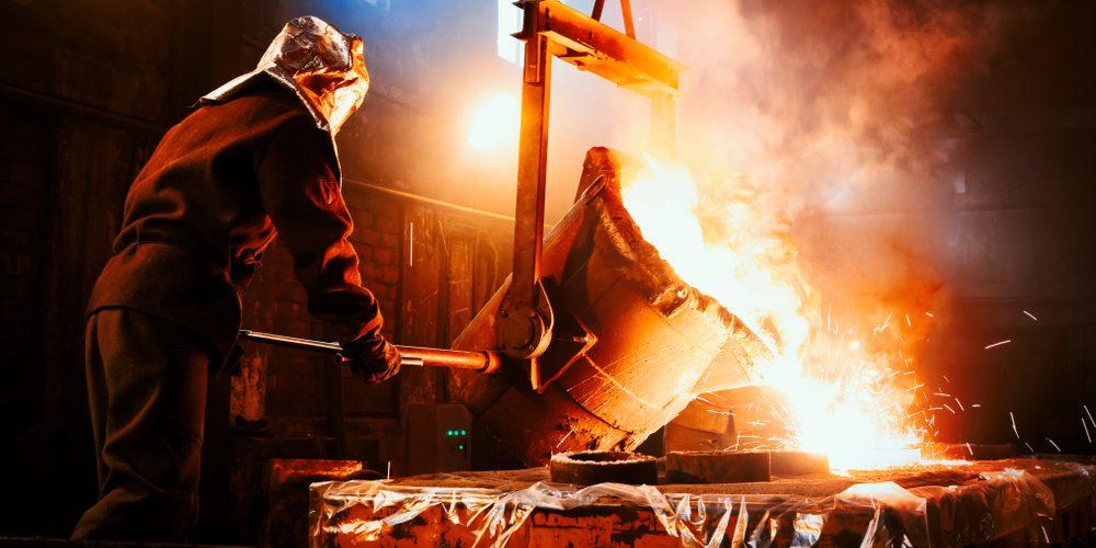 Produkcja hutnicza, Fot. Shutterstock.com