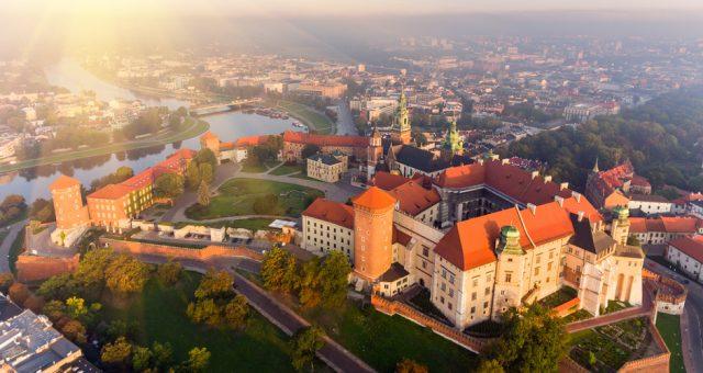 Widok na Kraków, Fot. Shutterstock.com