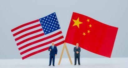 Chiny kontra Stany Zjednoczone, Fot. Shutterstock.com