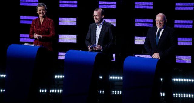 Debata kandydatów na przewodniczącego KE, Fot. Alexandros Michailidis / Shutterstock.com