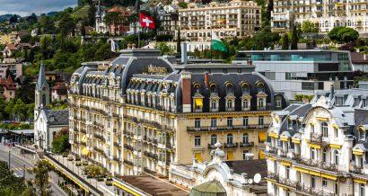 Montreux Palace Hotel, Fot. marekusz / Shutterstock.com