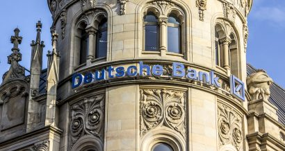 Budynek Deutsche Banku, Fot. anandoart / Shutterstock.com