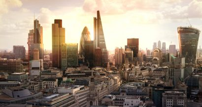 Widok na londyńskie City, Fot. Shutterstock.com