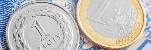 Złoty i euro, Fot. Shutterstock.com