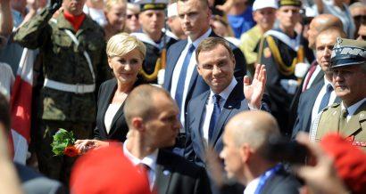 Prezydent Andrzej Duda z małżonką, Fot. MediaPictures.pl / Shutterstock.com