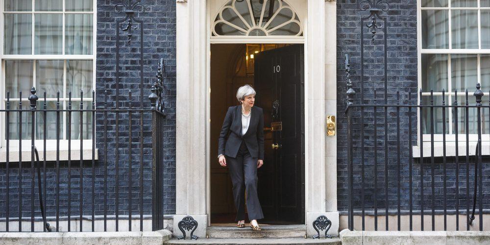 Theresa May na Downing Street, Fot. Drop of Light, Shutterstock.com