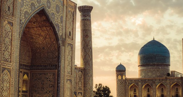 Meczet w Samarkandzie (Uzbekistan), Fot. Shutterstock.com