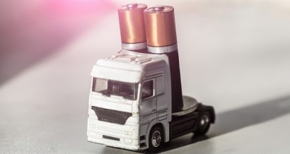 Model ciężarówki, Fot. Shutterstock.com