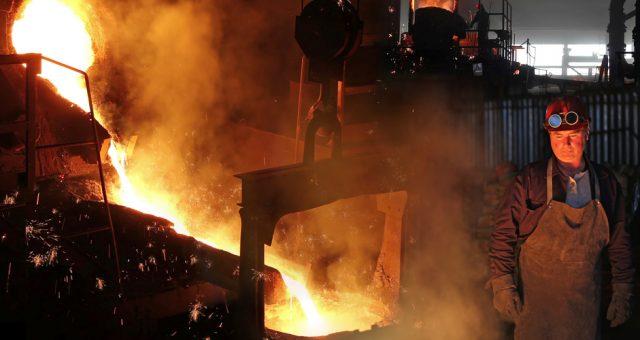 Produkcja stali, Fot. Shutterstock.com