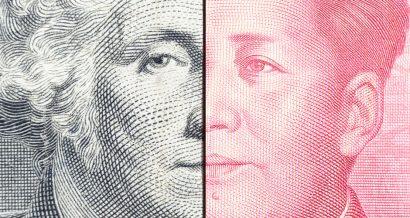 Chiny vs USA, Fot. Shutterstock.com