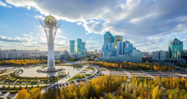 Nur-Sułtan (d. Astana), stolica Kazachstanu. Fot. Shutterstock