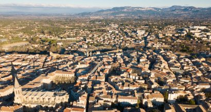 Carpentras we Francji, gdzie padł rekord gorąca. Fot. Shutterstock