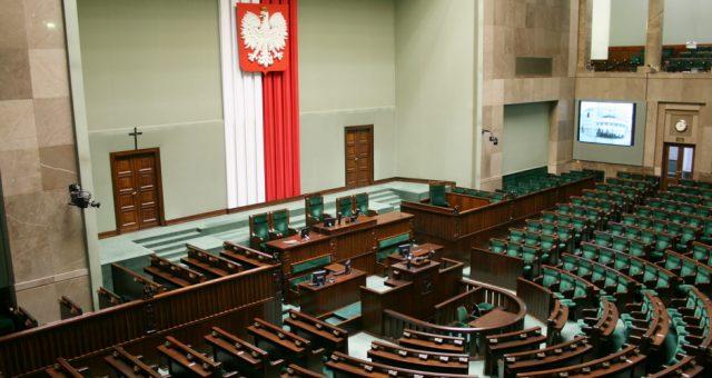 Sejm, Fot. Shutterstock.com