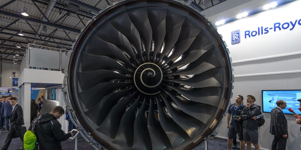 Turbina Rolls-Royce. Fot. Sergey Kohl / Shutterstock.com