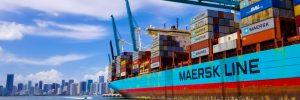 Kontenerowiec Maersk Line, Fot. SergeevDen / Shutterstock.com