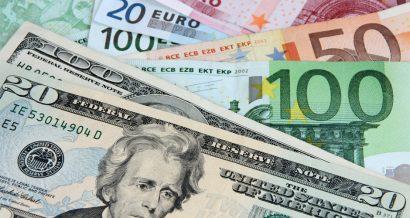 euro i dolar, Fot. Shutterstock.com