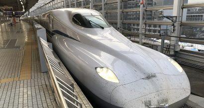Prototyp japońskiego pociągu shinkansen N700S
