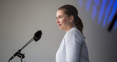Mette Frederiksen. Fot. News Oresund [CC BY 2.0]