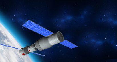 Model 3D stacji Tiangong-1. Fot. Shutterstock