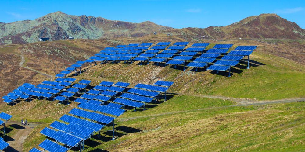 Elektrownia słoneczna w Austrii, Fot. Shutterstock.com